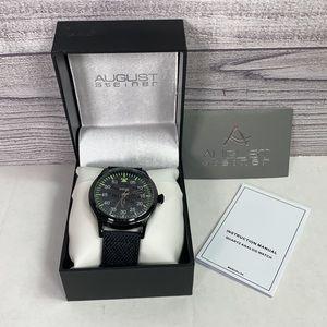 August Steiner - AS8125BK Waterproof Watch